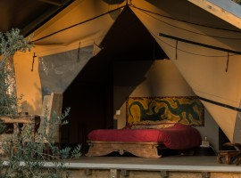 Glamping in Toscana in tende di lusso