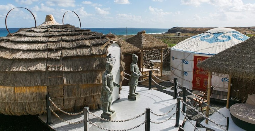 Tra yurte e cottage, una vacanza rustica a Lanzarote