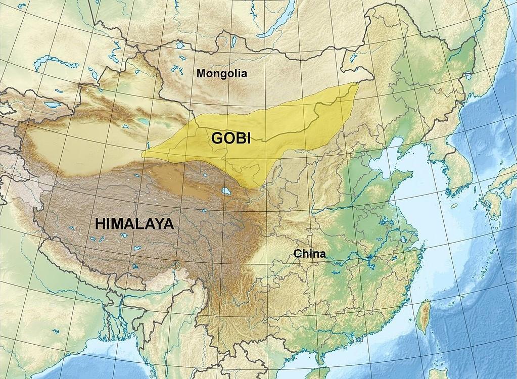 Cartina Climatica Cina.Cina La Nuova Muraglia Verde Che Fermera Il Deserto Ecobnb