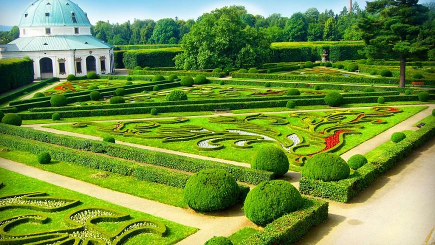 giardino reale repubblica ceca