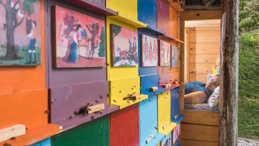 apiturismo massaggio con le api e miele