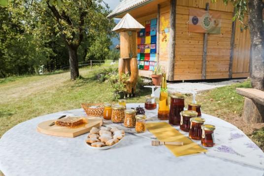 vasetti di miele artigianale