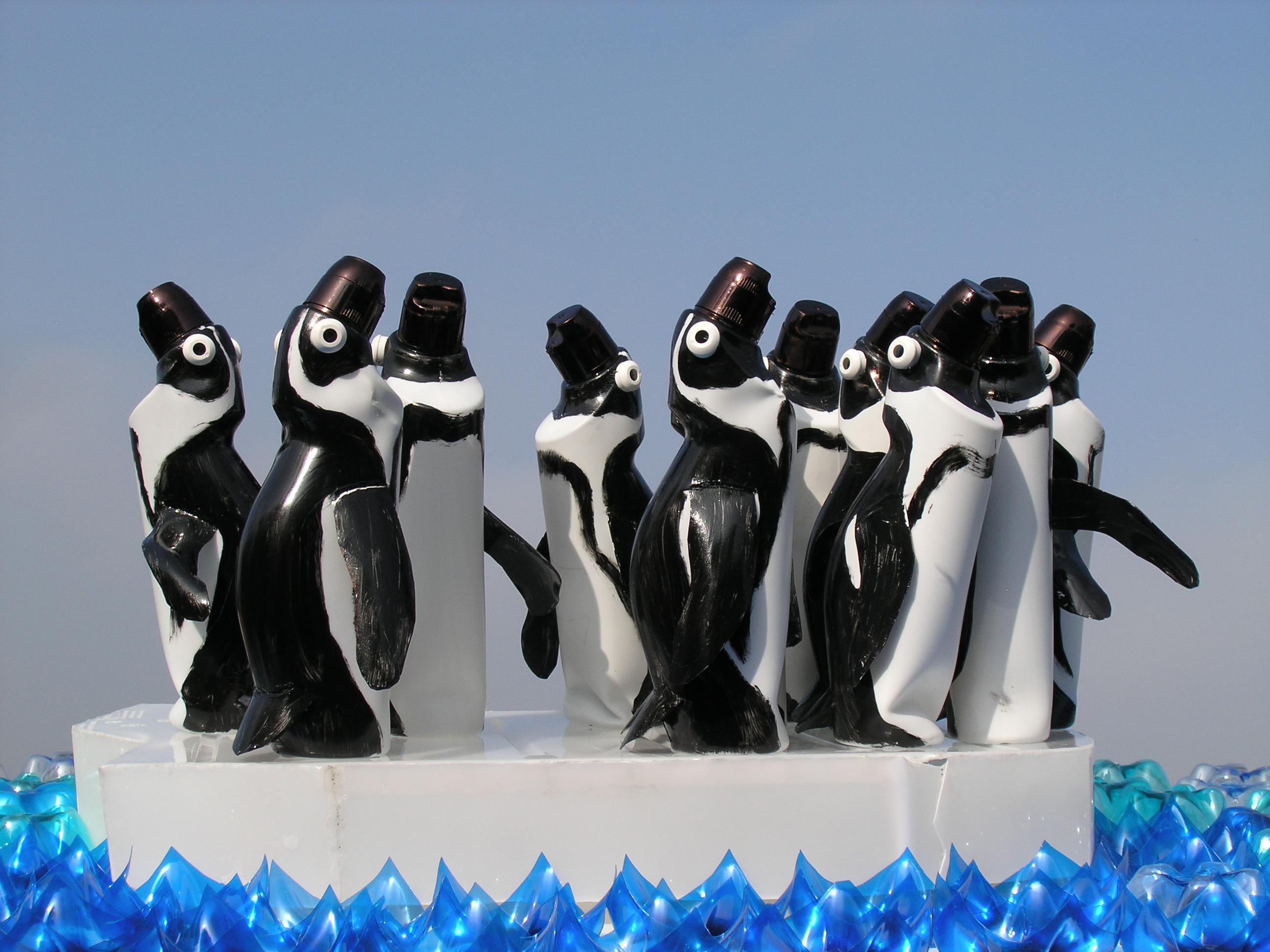 Pinguini, opera di Farfalle di Veronika Richterová