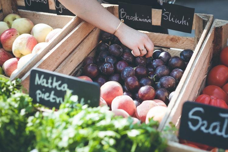 mercato degli ortaggi a varsavia