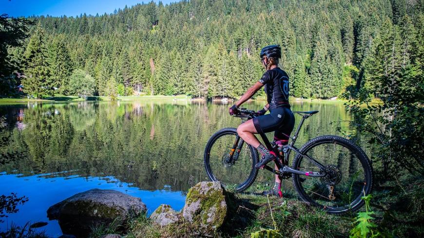 val di sole in bicicletta