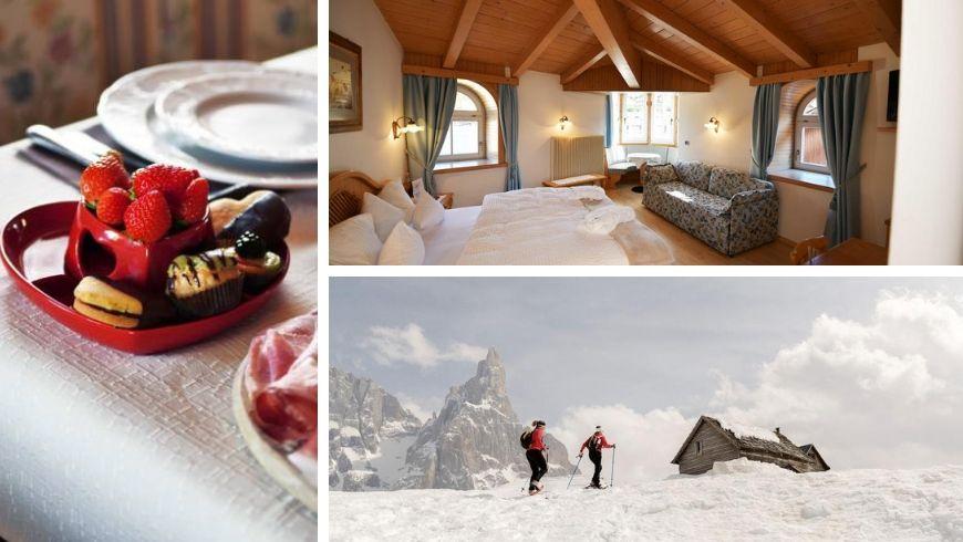Hotel Central Moena: colazione a km zero, camera e itinerario sulla neve