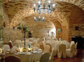 Castello di Chiola, sala da pranzo