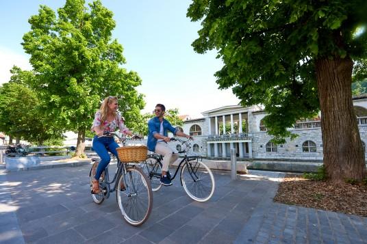 tour in bici nel centro di ljublana