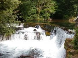 cascate del fiume grab