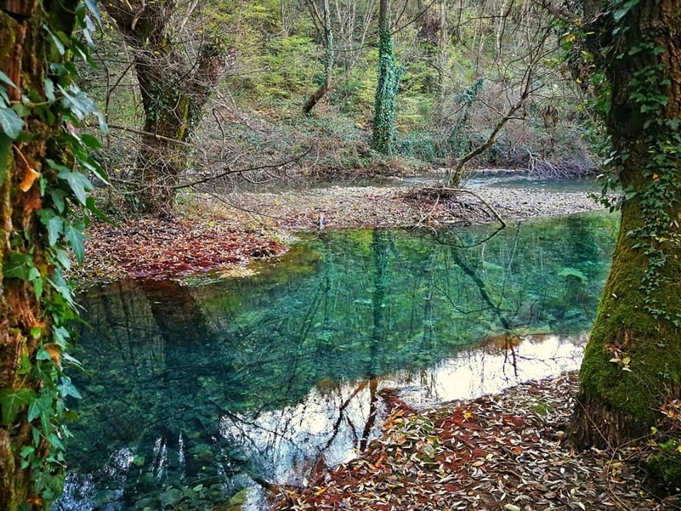 la sorgente del fiume grab in croazia