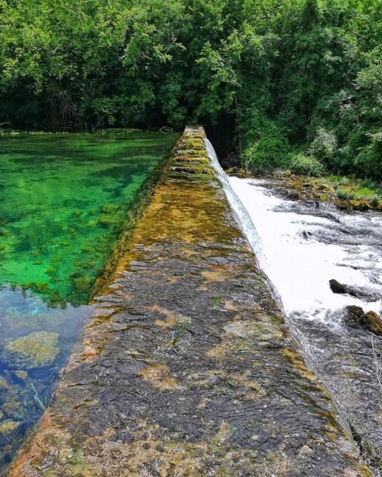 cascata del torrente krka