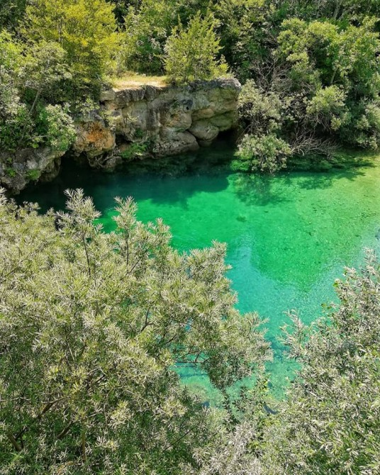 tratto del torrente krka a krcic