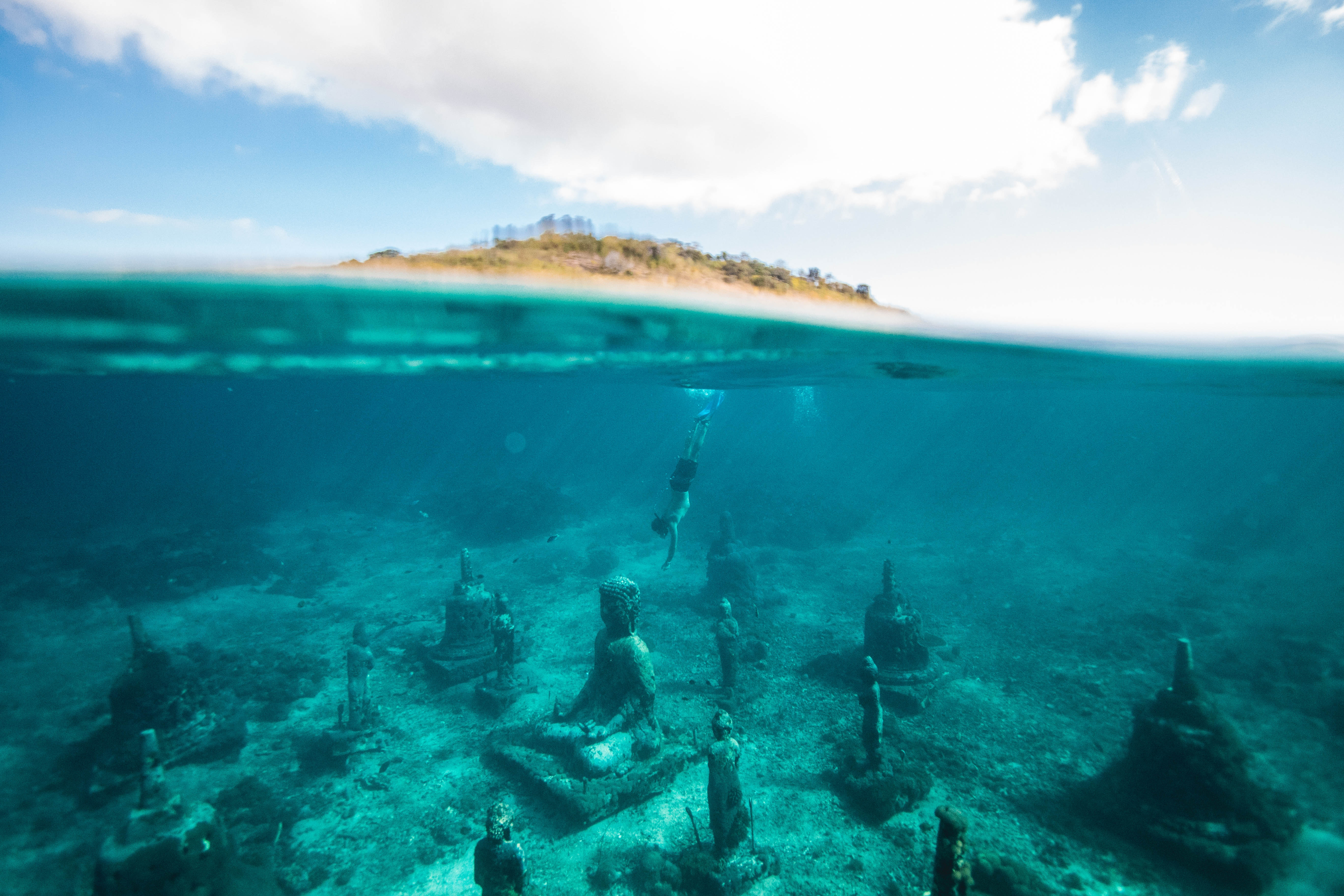Lembongan island, Indonesia, una delle isole del pacifico minacciate dal turismo di massa
