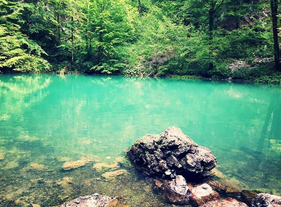 la sorgente smeraldina del fiume kupa