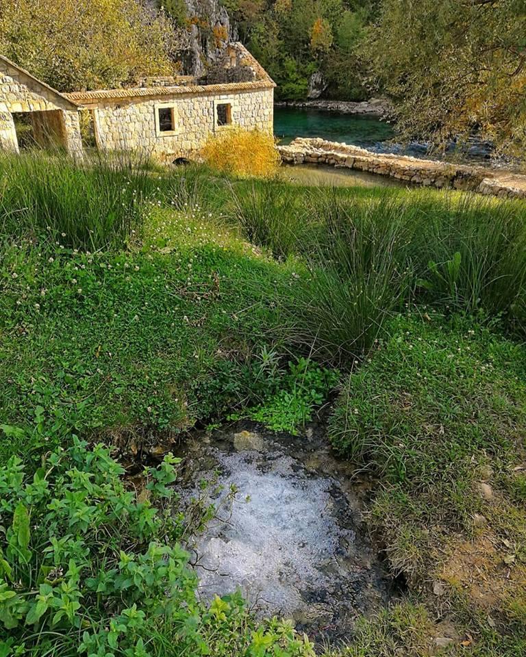 fonte del torrente ruda, croazia