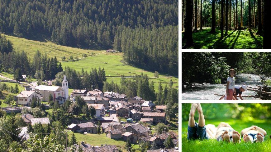 Vacanze in famiglia con immersione nei boschi a La Magdeleine