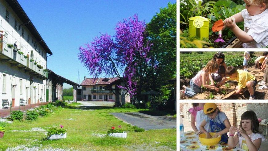 Cascina Santa Brera, vacanze per bambini nella natura
