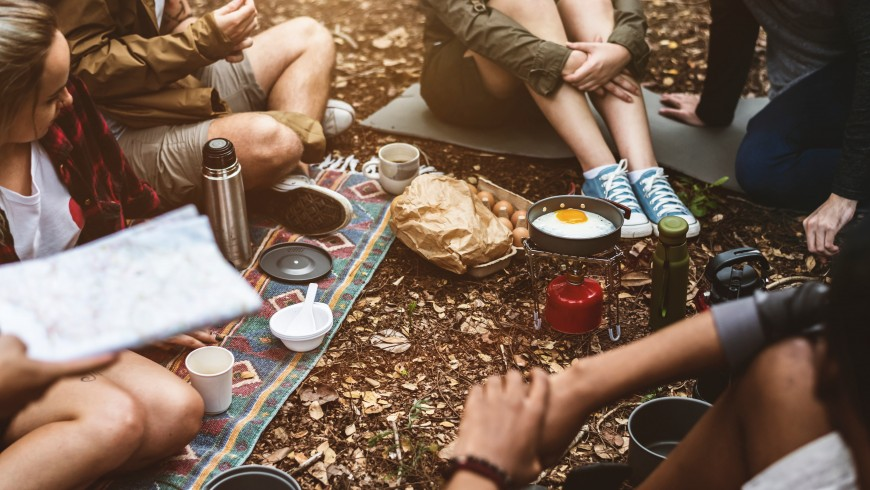 Arrivare presto in campeggio