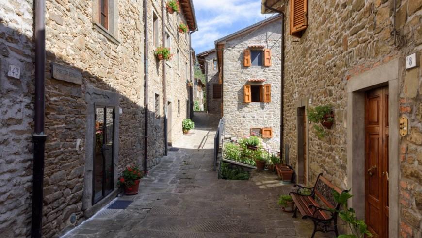 albergo diffuso Borgo dei Corsi, Toscana