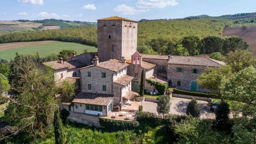 Un borgo nel verde dell'Umbria