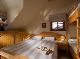 Bio apartments Trnulja camera da letto