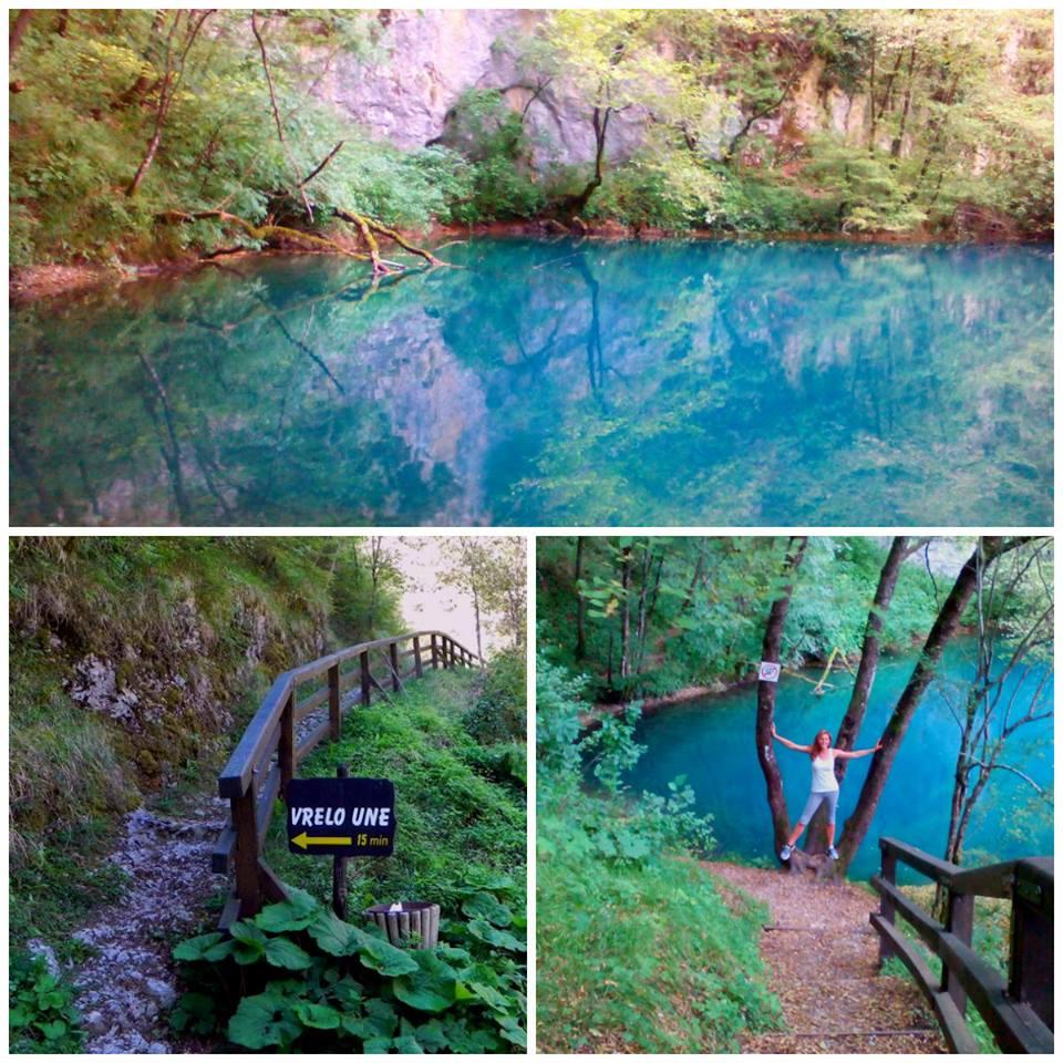 sorgenti del fiume Una, croazia