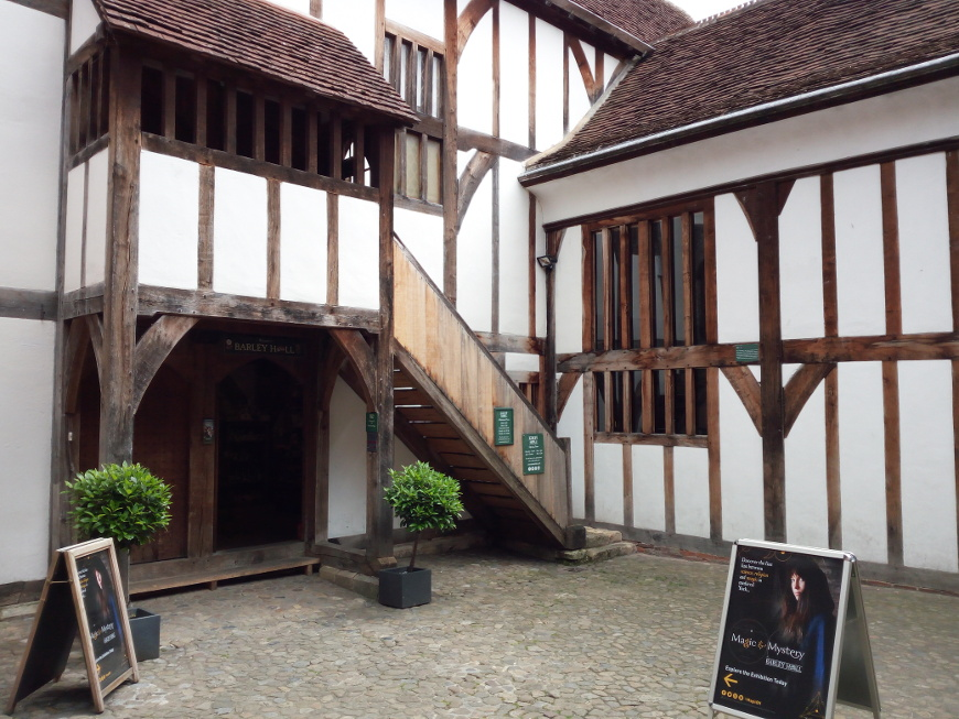 Barley Hall, York medievale