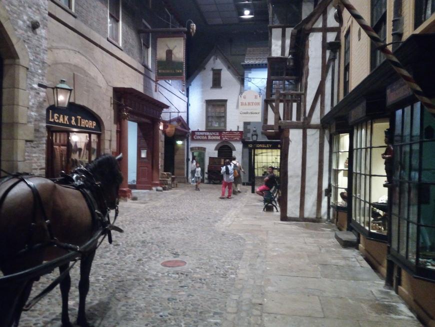 ritorno al passato, castle museum a york
