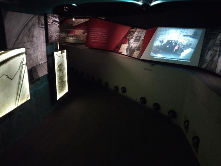 York Romana con museo interattivo, sotto a York Minster