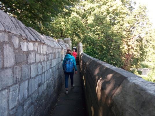 Sulle Antiche Mura di York