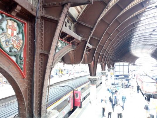 Il fascino della stazione di York
