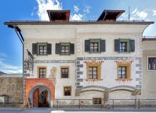 piccolo scorcio del centro storico con la sua archittetura tipica
