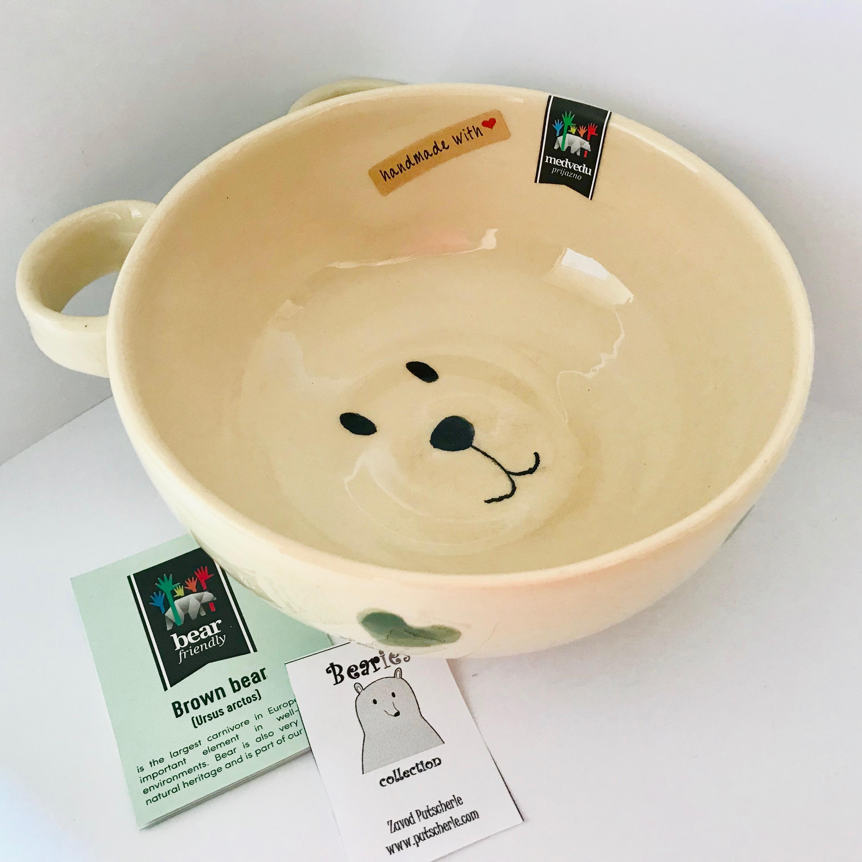 ceramica bear friendly artigianale