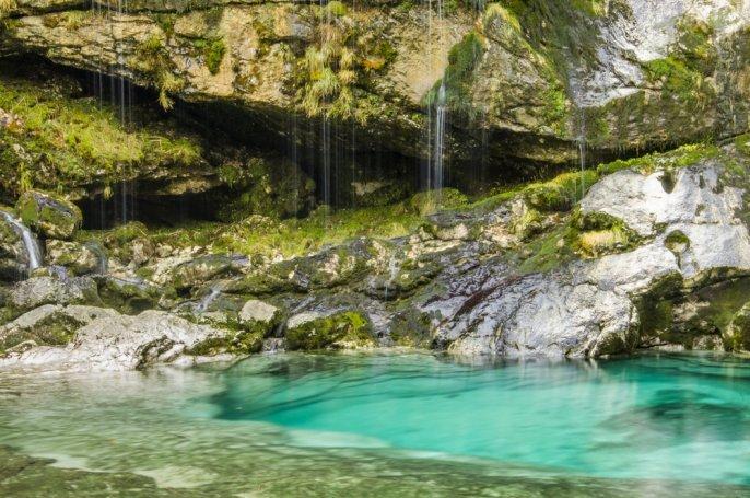 Cascata Virje in Slovenia