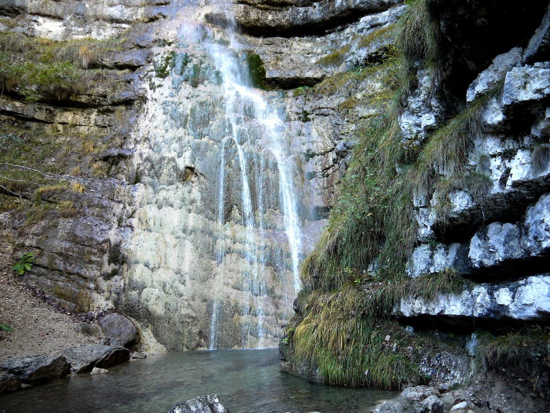 cascata dell'Ofentol
