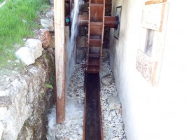 Antico Mulino a Cueli Liberi, Alpe Cimbra