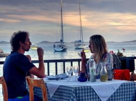 Restaurant Čigrađa Murter cena di pesce