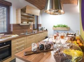 Bearlog hostel cucina
