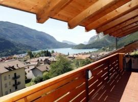 Hotel con vista sul lago di Molveno