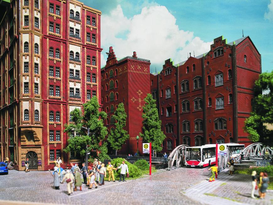 Speicherstadt, Amburgo riprodotta a Miniatur Wunderland