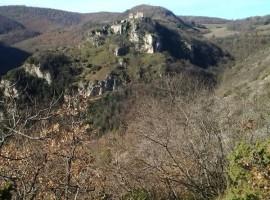 trekking sui monti martani