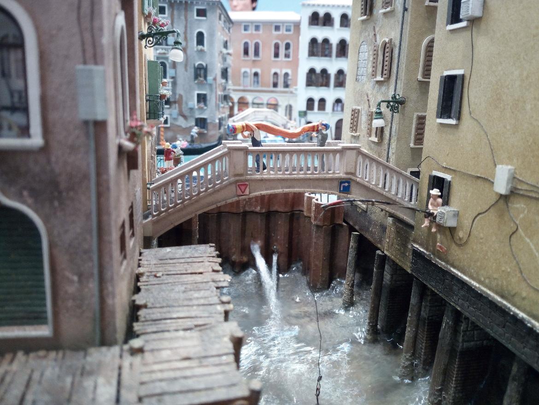 Venezia a Miniatur Wunderland