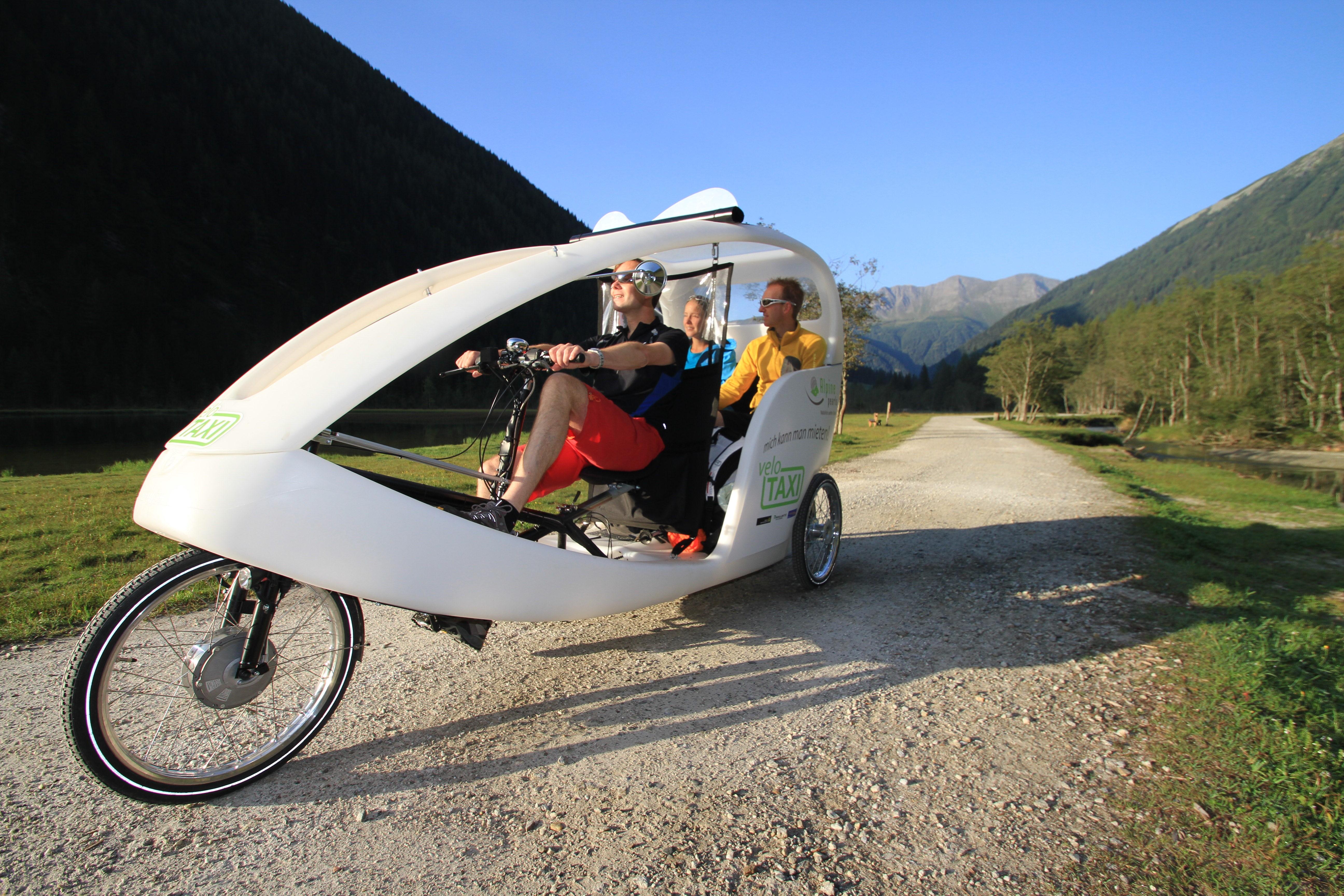 Velo taxi a Mallniz, Austria