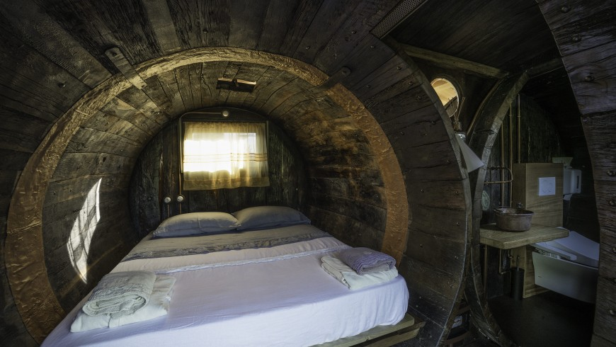 Dormire in una botte: Agriturismo La Coroncina