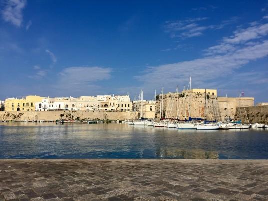 porto della città di Gallipoli