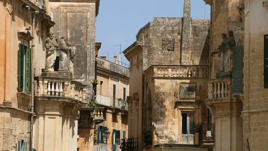 Piccolo scorcio su un vicolo nel centro storico di Lecce