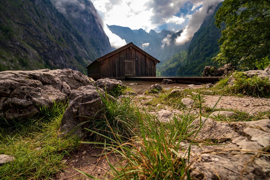 piccolo rifugio tra le montagne