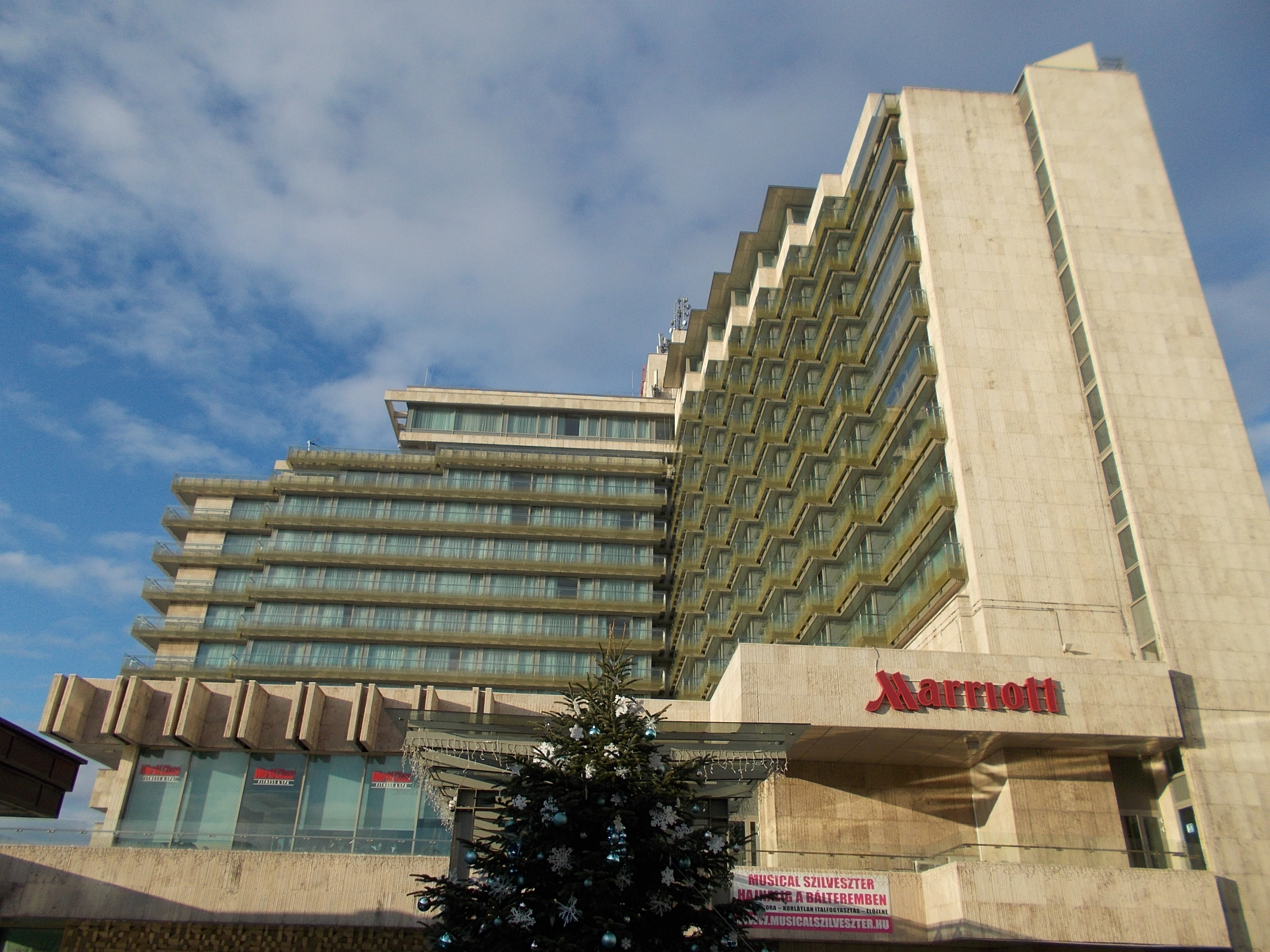 Hotel Marriott a Budapest
