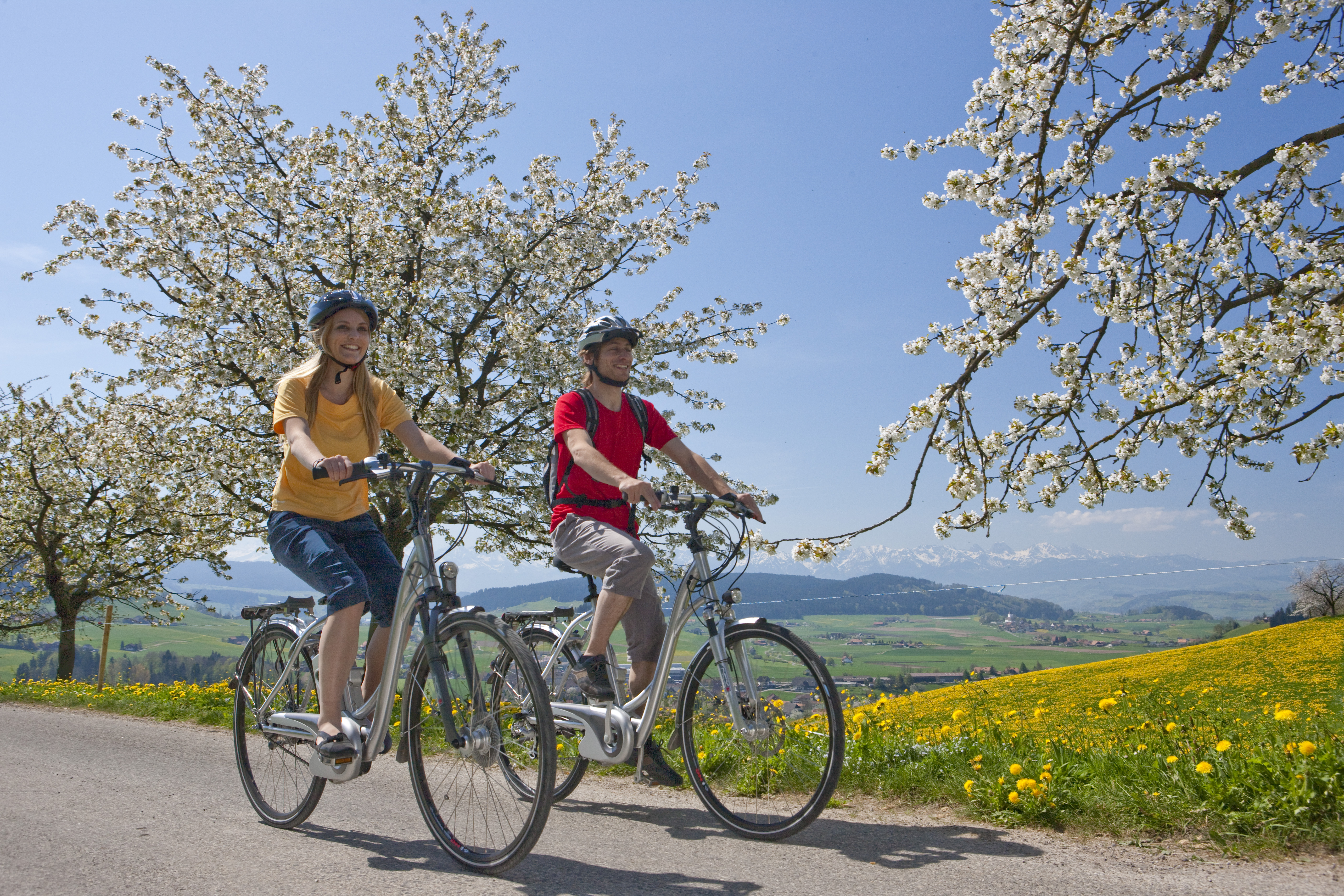 Interlaken in bicicletta