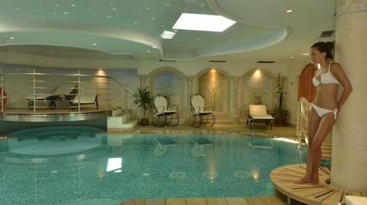 spa dell'hotel eco-friendly a Moena